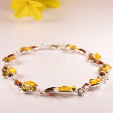 Amber Bracelet in the shape of Teardrop
